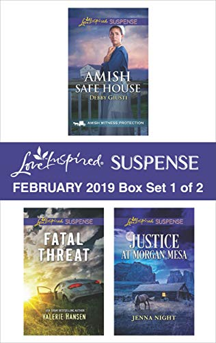 Harlequin Love Inspired Suspense February 2019 - Box Set 1 of 2: A Wholesome Western Romance