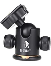 Andeor Trepied Camera—Trepied Monopod Professionnel en Alliage d'aluminium, 72.5-132.5cm Trépied Pliable, Multifonctionnel Hauteur d'untilisation agréable pour Canon Nikon Sony Panasonic DSLR
