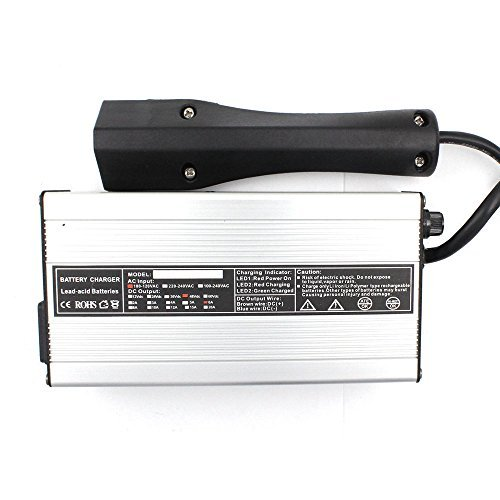 48 Volt 6 Amp Golf Cart Battery Charger for EZ-GO RXV TXT Powerwise 3-Pin Connector Plug