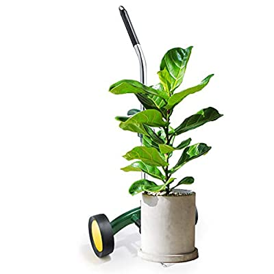 Plant Dolly with Flat Free Wheels Potted Plant Mover for Garden Potted Flower Trees : Garden & Outdoor
