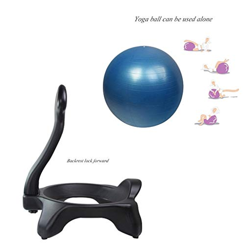 Sports & Fitness Yoga Ball Chair Child Sitting Posture Correction Ball Chair Office Chair Fitness Shaping Yoga Ball Chair Pregnant Yoga Ball Chair (Load Bearing: 300kg) Exercise Ball Chairs by PHSP (Image #2)