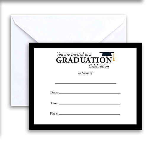 Paper Frenzy Graduation Celebration Cards - Pack of 25 -
