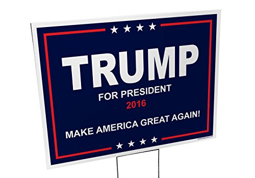 Imagine This YY7754 Trump 2016 Yard Sign