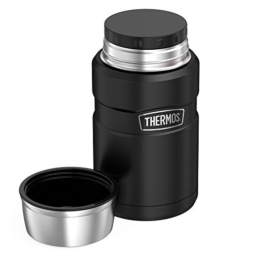 Thermos Stainless King 24 Ounce Food Jar, Matte Black ...