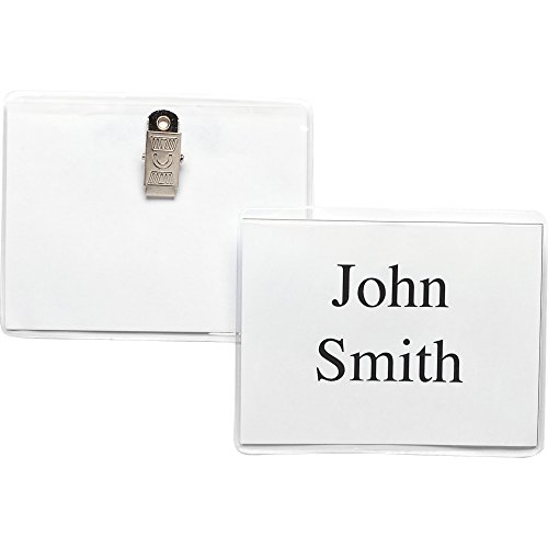 (Business Source Clip Holder Style Badge)