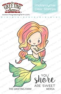 Amazon the greeting farm little mermaids clear stamps arts the greeting farm merisa mermaid clear stamps m4hsunfo