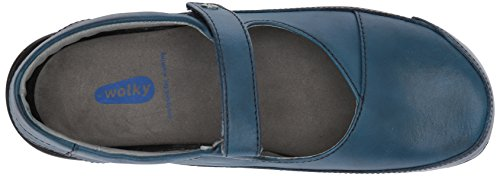 wolky Blue Slipper Roll Slipper 6227 Leather nbsp;Roll Vegi Z11Przy