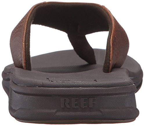 Mens Del Reef Rover Le Sandal Brown