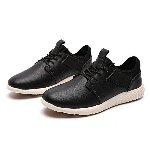 Langbao Formateurs De Lger Uk7036 Chaussures Marche Course Noir Sport Hommes Pour Fitness 6wTZHUEq