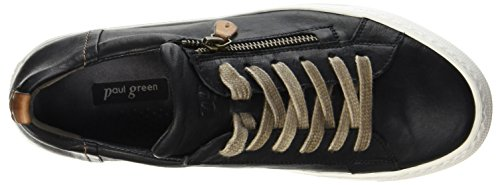 Paul Green 4512081, Sneaker Donna Nero (Nero)