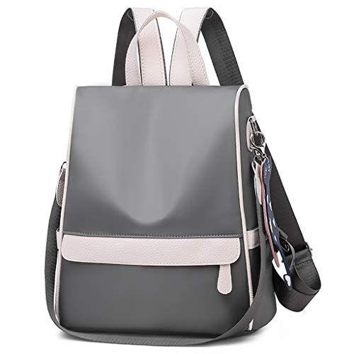 - Backpacks Deals,Women Casual Oxford Stitching Backpack Fashion Wild Travel Student Bag Daily Satchels Backpack