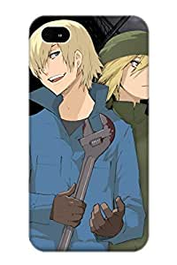 Hgsdyl-798-ljokepb Anti-scratch Case Cover Exultantor Protective Anime Baccano Case For Iphone 4/4s Kimberly Kurzendoerfer
