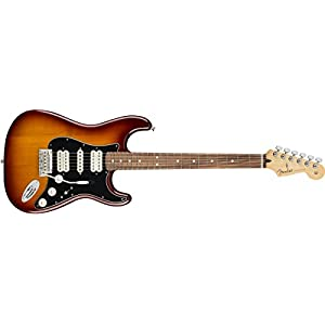 Player Stratocaster HSH PF Tobacco Sunburst