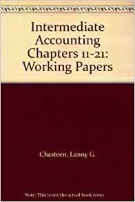 intermediate accounting working papers