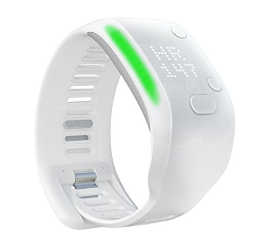 adidas Fit Smart - Fitness and Activity Monitor Wristband - White, Small by adidas miCoach