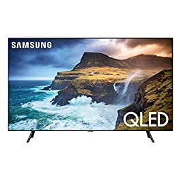 Samsung QN82Q70RAFXZA / QN82Q7DRAFXZA Flat 82-Inch QLED 4K Q70 Series Ultra HD Smart TV with HDR and Alexa Compatibility…