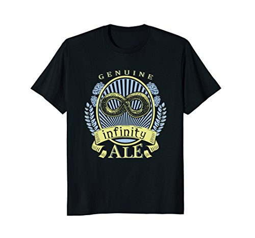 Snake Eating Its Tail (Ouroboros Infinity Snake Eating its Own Tail Beer T-Shirt)