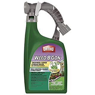 Ortho Weed B Gon Chickweed, Clover & Oxalis Killer for Lawns Ready-To-Spray, 32 oz.