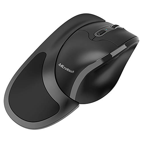 Newtral 3 Wireless Left Handed Semi-Vertical Ergonomic Mouse,...