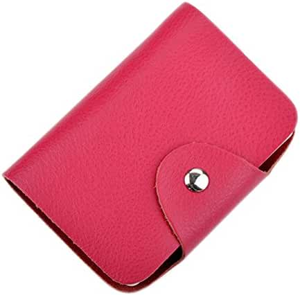 Boshiho® Leather Credit Card Holder Business Card Holder Name ID Card Case