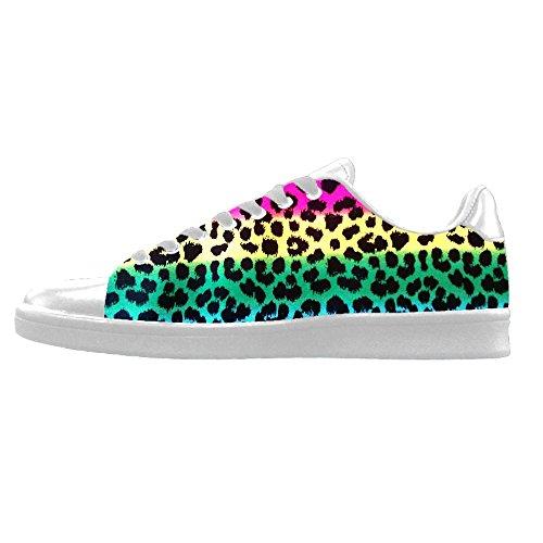 Shoes Alto Tela Ginnastica Stampa Custom Di Sopra Men's Lacci Leopardo I In Canvas Scarpe Delle Le Da aIwvnwBq