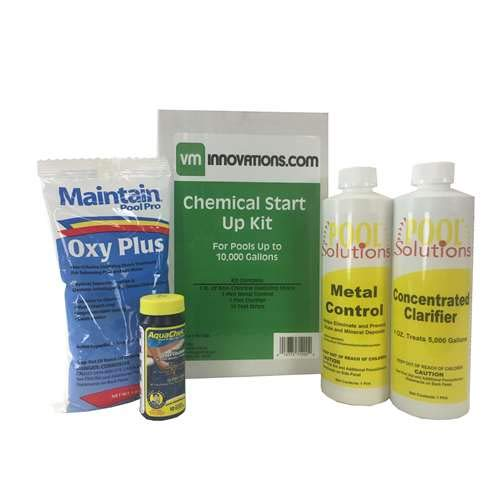 (Swimming Pool Spring Start-Up Chemical Opening Kit - Pools Up To 10,000 Gallons)