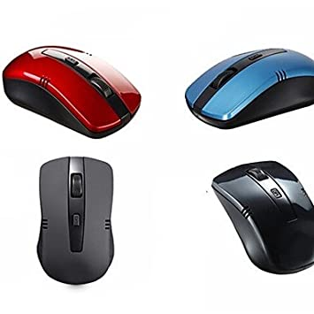6bc7a86aa97 Wireless 2.4GHz 30 Meters Ultra Long Range Wireless Mouse(1000DPI) , Blue:  Amazon.co.uk: Computers & Accessories