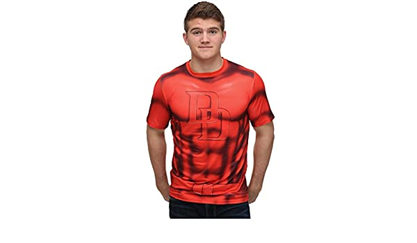 Traje sublimado Daredevil T-Shirt-X-Large: Amazon.es: Ropa y ...