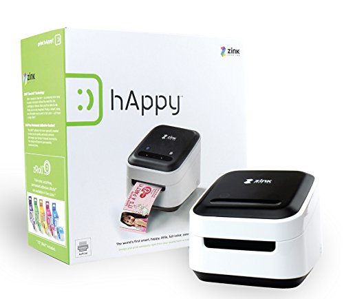 Zink Mobile Photo Printer Multifunction Wireless Color Label