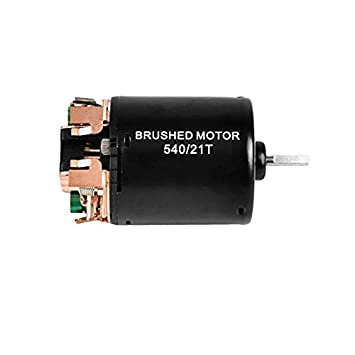 FastWin 540 21T 4 Poles Brushed Motor and WP-1060-RTR 60A Waterproof Brushed ESC Electronic Speed Controller with 5V//2A BEC for Axial RC4WD CROSS HPI MIST GMADE D90 D110 TF2 SCX10 ii PG4 MC8 WARAITH Y
