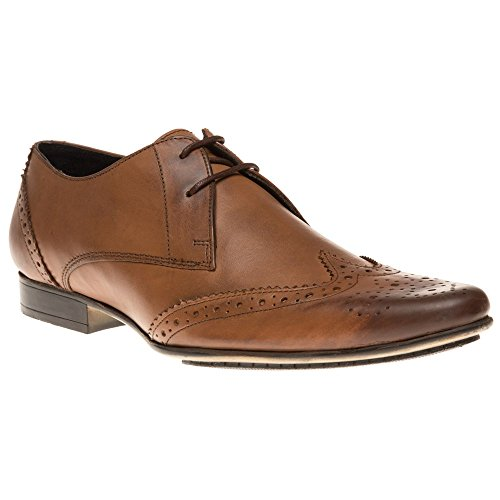 Ben Sherman Myas Brogue Homme Chaussures Fauve