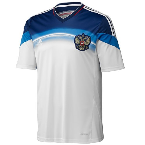 (Adidas Russia Away Jersey World Cup 2014 (L))