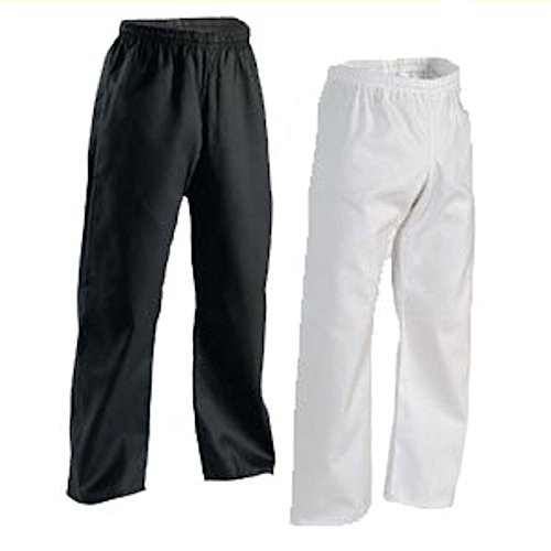 Century Middleweight Student Elastic Waist Pants - White / Sz. (Martial Arts Workout Pant)