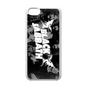 iPhone 5c Cell Phone Case White Black Sabbath KIY Protective Customized Phone Case