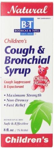 Boericke & Tafel, Children's Cough & Bronchial Syrup, Cherry Flavour, 8 fl oz by Boericke & Tafel
