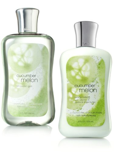 Bath & Body Works, Shower Gel and Body Lotion Gift Set (CUCUMBER MELON)