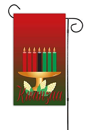 "Unique Textile Printing Kwanzaa Garden Flag 12""x18"" Review"