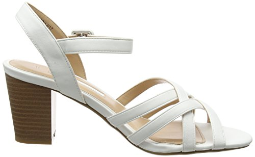 Dorothy Perkins Women's Sandy Open Toe Sandals White (White 190) bQu8jL5