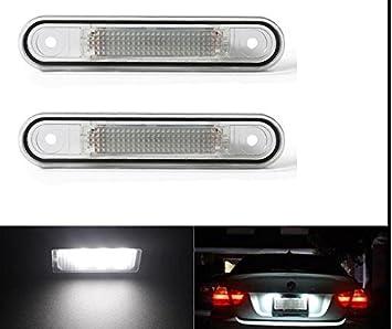 Led Kennzeichenbeleuchtung W124 W201 W202 Vorfacelift Weißlicht Smd Auto