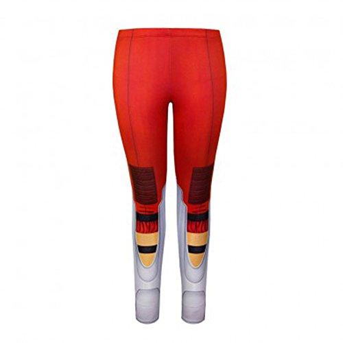 Portal 2 Aperture Laboratories Chell Sublimated Leggings (Juniors Medium)