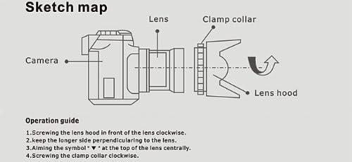 Lens Cleaning Pen UltraPro Bundle Includes Flower Tulip Lens Hood Lens Cap Keeper 55mm Digital Tulip Flower Lens Hood Bundle for Select Canon Digital Cameras