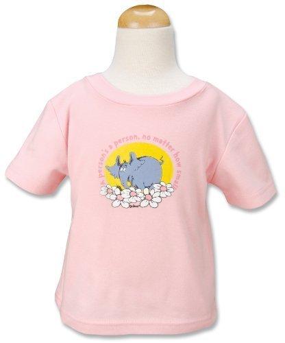 (Trend Lab Dr. Seuss T-Shirt, Horton, Pink, 12 Months)