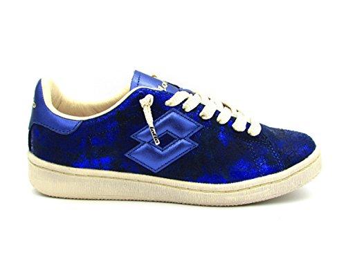 Turquesa Azul Piel Lotto De Para Zapatillas Mujer wXq7z8
