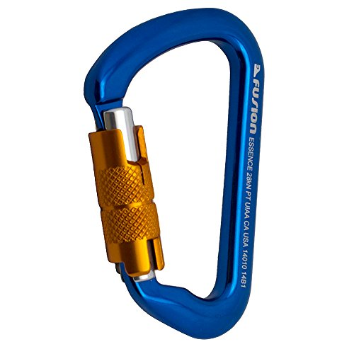 Fusion Essence Modified D Shape Aluminum Auto Locking Carabiner