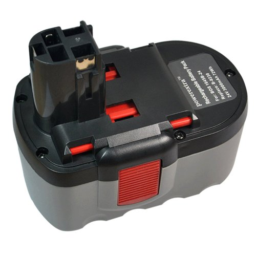 Powerextra Bosch 24V Replacement Battery Compatible with Bosch 11524 12524 12524-03 13624-2G 1645 1645B-24 1645K-24 1660 1660K-24 3452 3924 3924-24 3960 1645-24 125-2411524 13624 52324 52324B