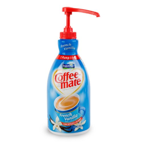 Nestle Coffee-mate Liquid Creamer French Vanilla Pump 1.5 (1.5l Pump Bottle)