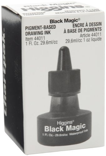 SAN44011 - Sanford Higgins Black Magic Waterproof Drawing Ink