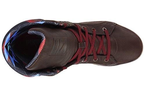 Puma 2nd Round Hi GTX WTR Gore Tex Boots brown leather winter men braun