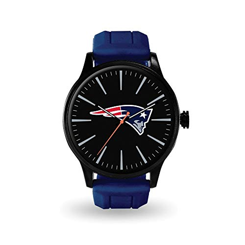 Q Gold Gifts Watches NFL New England Patriots Cheer Watch by Rico Industries