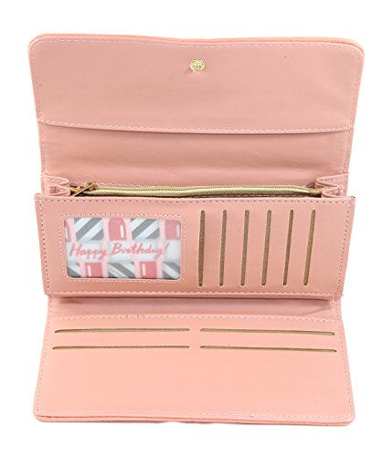 Ladies Wallet Sets With Matching Watch -Red by Gino Milano (Image #5)